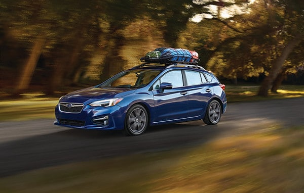 image of 2019 Impreza driving down the road