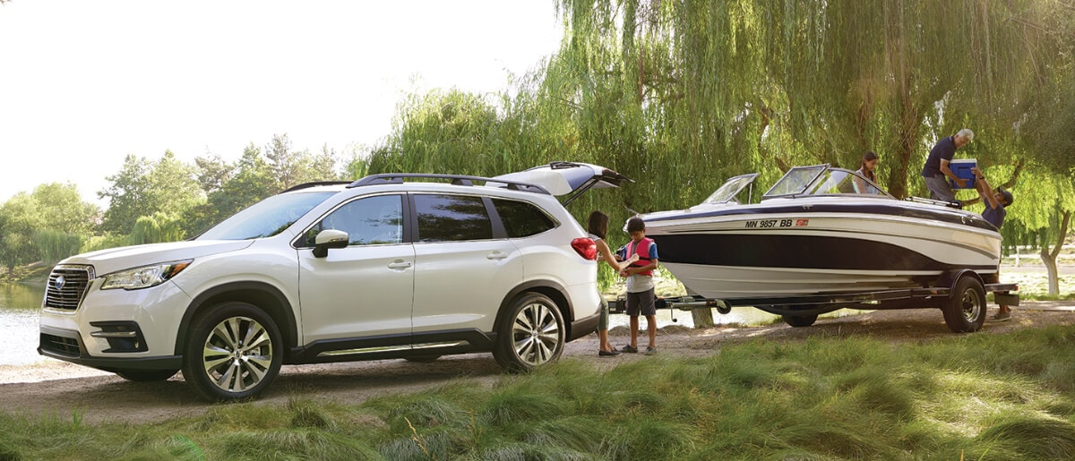 2019 Ascent towing boat