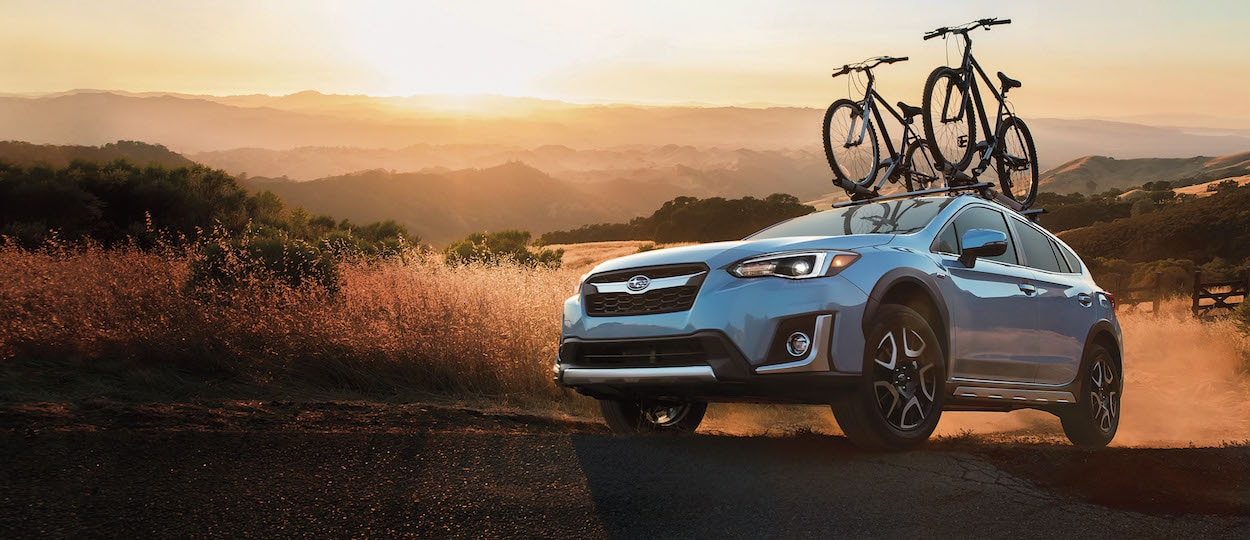 2020 Subaru Crosstrek off-roading in the desert