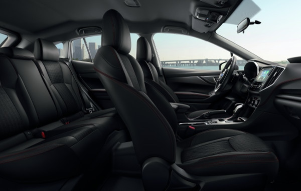 image of 2019 Impreza's seating space