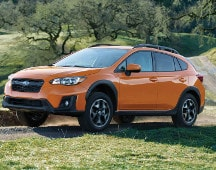 2019 Subaru Crosstrek cargo space