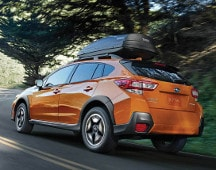 2019 Subaru Crosstrek on road