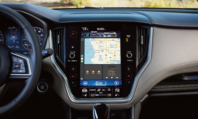 2021 Subaru Outback infotainment system