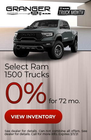 Select Ram 1500 - 0% APR