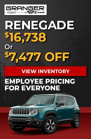 Jeep Renegade - Employee Pricing
