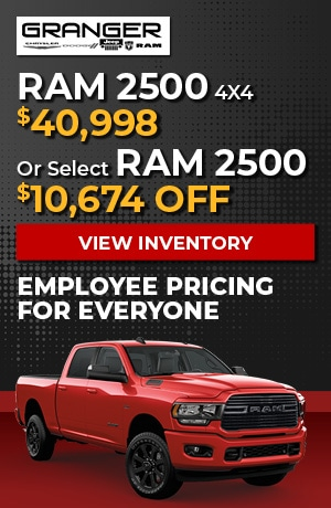 Ram 2500 - Employee Pricing