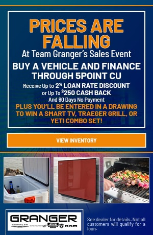 Prices Are Falling At Team Granger's Sales Event