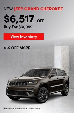 Jeep Grand Cherokee - Employee Pricing