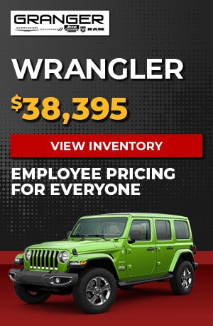 Jeep Wrangler - Employee Pricing