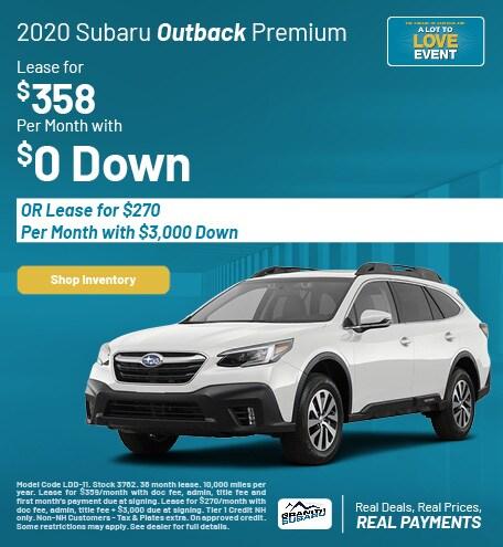 New 2020 Subaru Outback