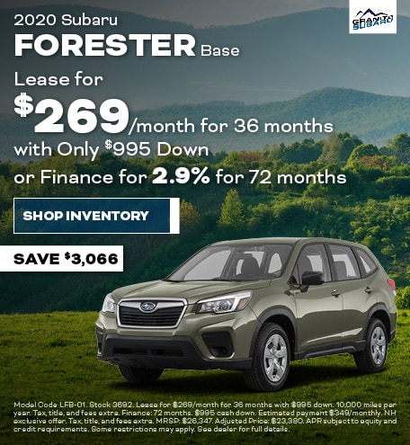 Granite Real Deal - Subaru Forester