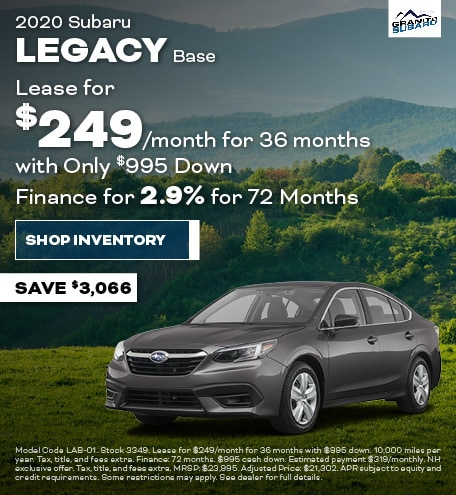 Granite Real Deal - Subaru Legacy