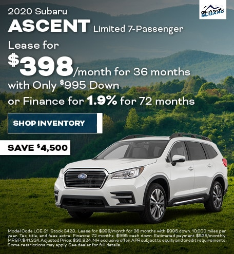 Granite Real Deal - Subaru Ascent