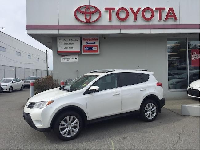 2015 Toyota RAV4 Limited Awd SUV
