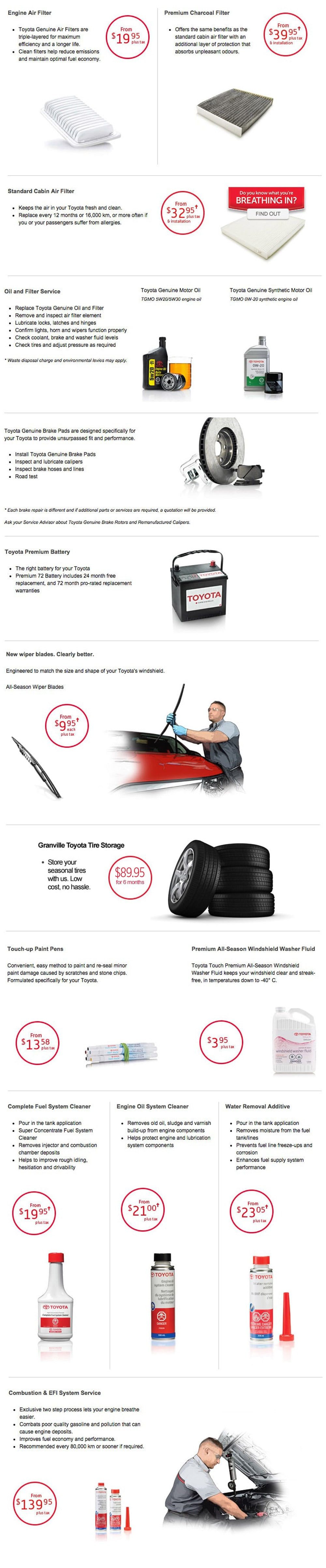 and accessories avalon parts page diagram online part toyota