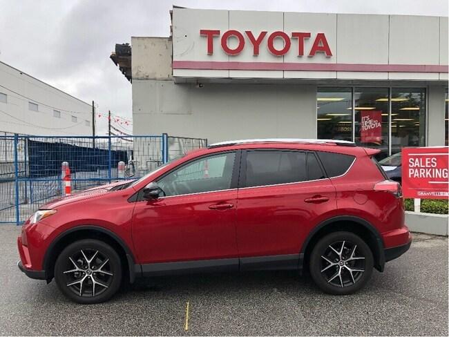 2016 Toyota RAV4 SE Awd SUV