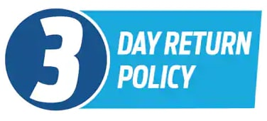 3 Day Return Policy