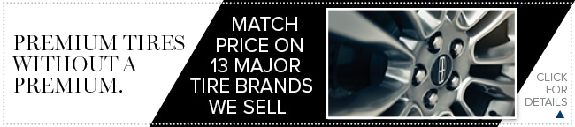 Tire Price Match Coupon, Grapevine