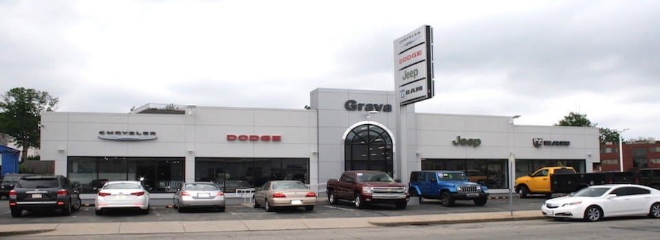 Grava Chrysler Dodge Jeep Ram Dealership In Medford, Ma