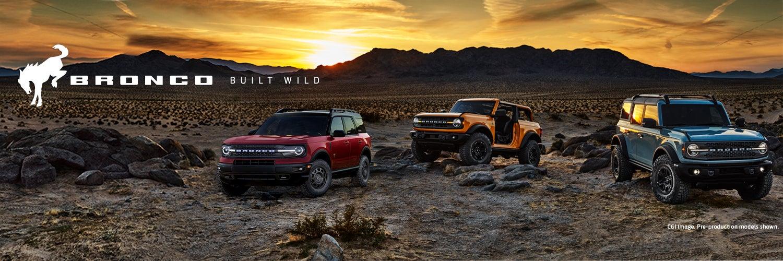 2021 Ford Bronco Pre-Order | Gray-Daniels Ford