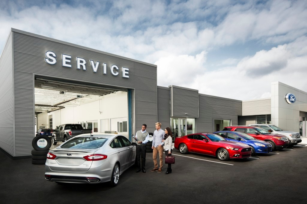 New Ford and Used Car Dealer Serving Fort Worth | David ...