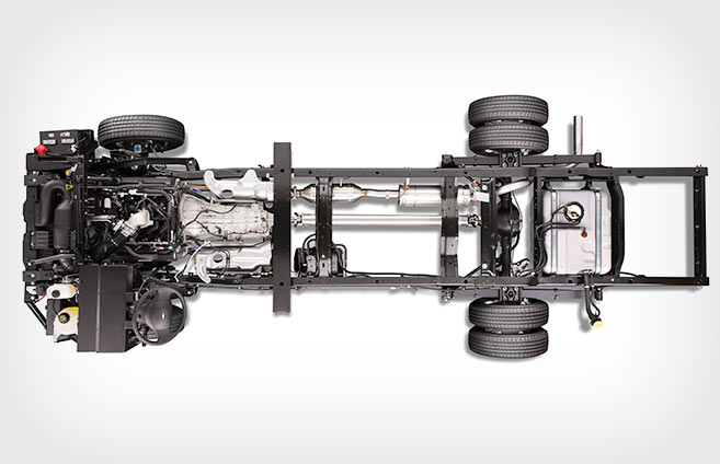 Ford E-350 Super Duty® Stripped Chassis