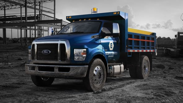 2016 Ford F-650 and F-750
