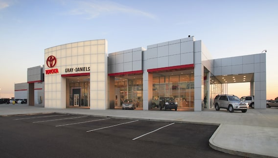 Toyota Dealerships In Mississippi >> Toyota Dealership Serving Jackson Ms Gray Daniels Toyota
