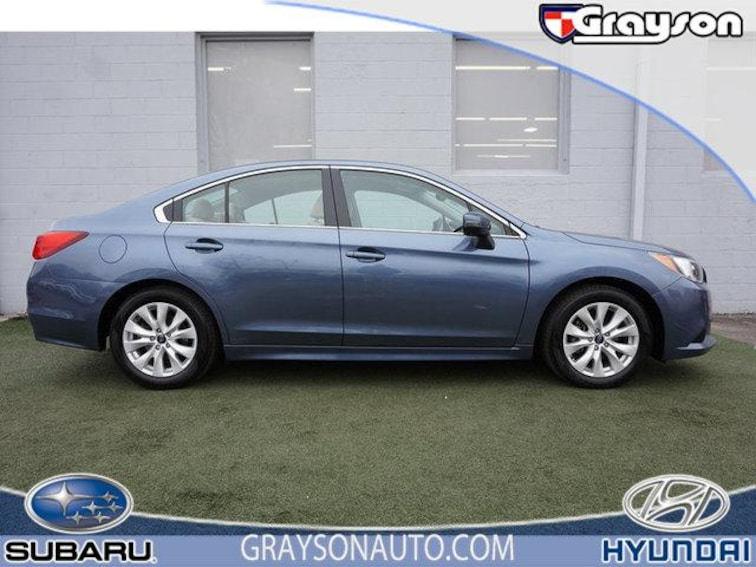 Certified Pre-Owned 2016 Subaru Legacy 4dr Sdn 2.5i Premium Pzev Sedan in Knoxville, TN