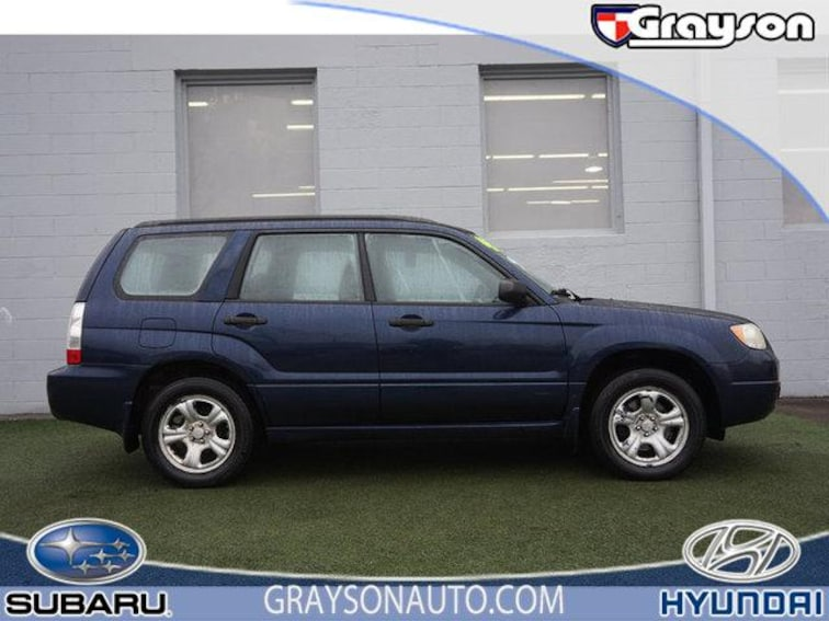 Used 2006 Subaru Forester 4dr 2.5 X Manual SUV in Knoxville TN