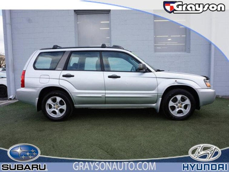 Used 2003 Subaru Forester 4dr 2.5 XS Auto SUV in Knoxville TN