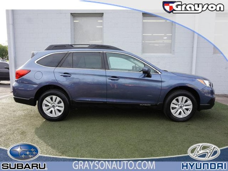 Certified Pre-Owned 2017 Subaru Outback 2.5i Premium SUV in Knoxville, TN