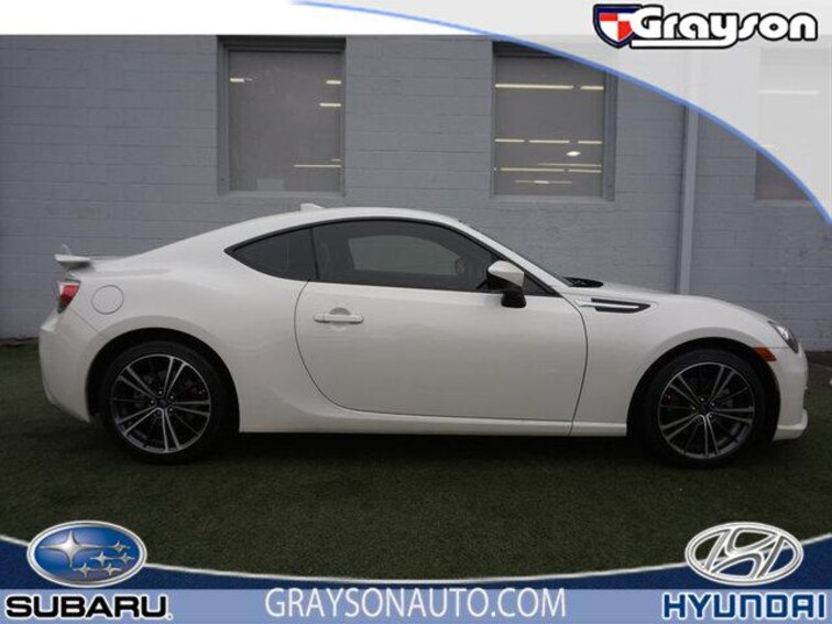 Certified Pre-Owned 2015 Subaru BRZ 2dr Cpe Man Limited Coupe in Knoxville, TN