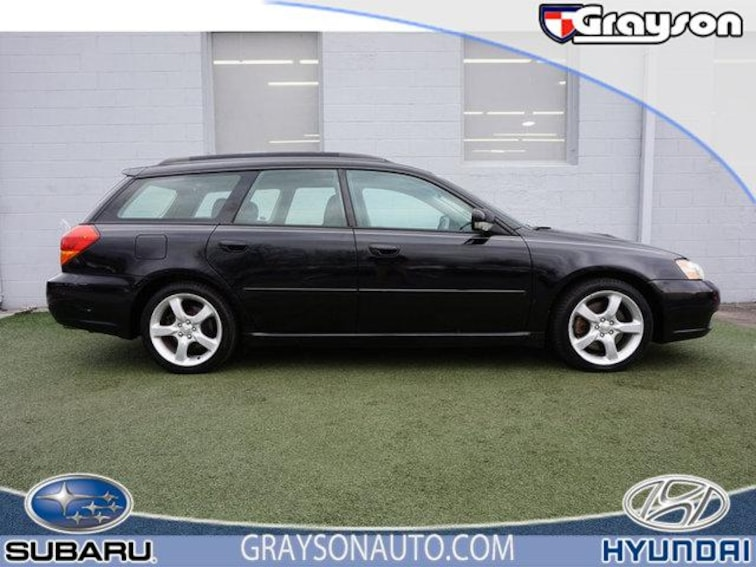 Used 2006 Subaru Legacy 2.5 GT Ltd Auto Black Int Wagon in Knoxville TN