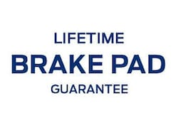 LIFETIME BRAKE PAD GUARANTEE
