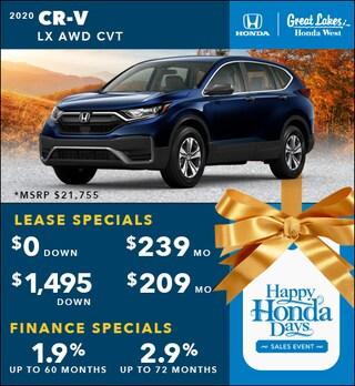 2020 Honda CR-V Nov. Special