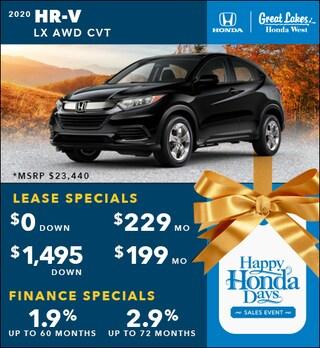 2020 Honda HR-V Nov. Special