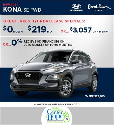 2021 Hyundai Kona SE Oct. Special