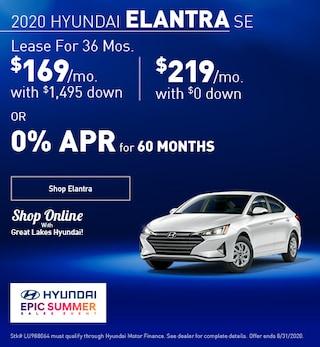 2020 Hyundai Elantra August
