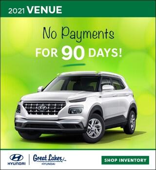 2021 Hyundai Venue April  Offer