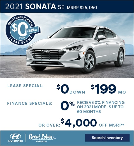 2021 Hyundai Sonata Jan. Special