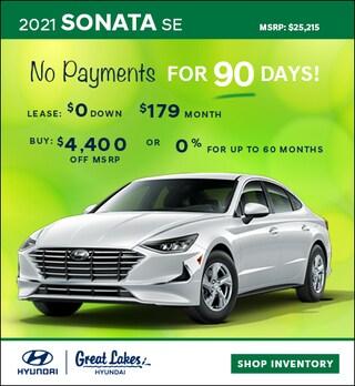 2021 Hyundai Sonata April Offer