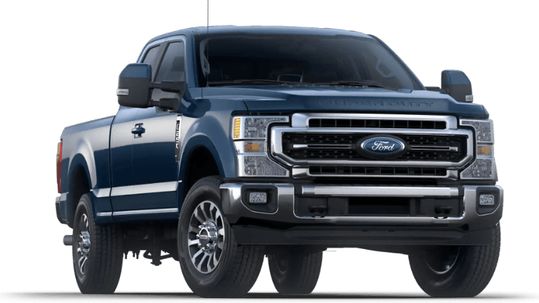 2020 Super Duty Lariat in bark blue