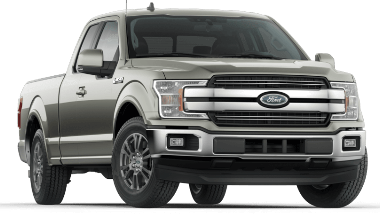 2020 Ford F-150 Lariat in Silver