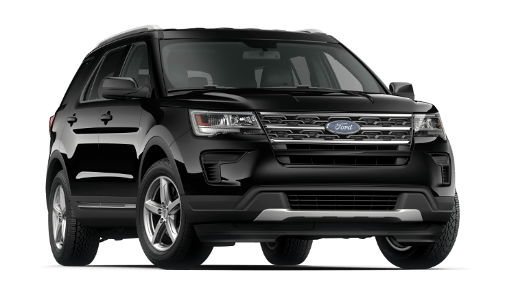 2019 Ford Explorer XLT in Black