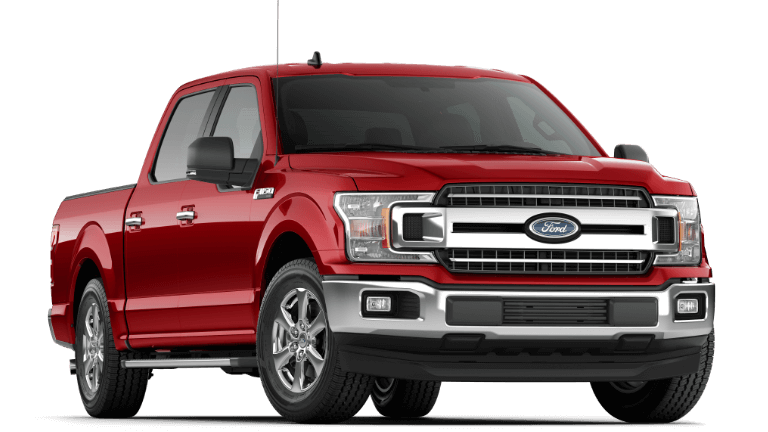 2019 Ford F-150 XLT Ruby Red