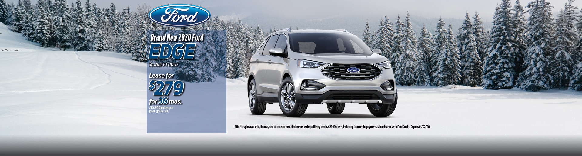 2019 Ford Edge Lease Deal