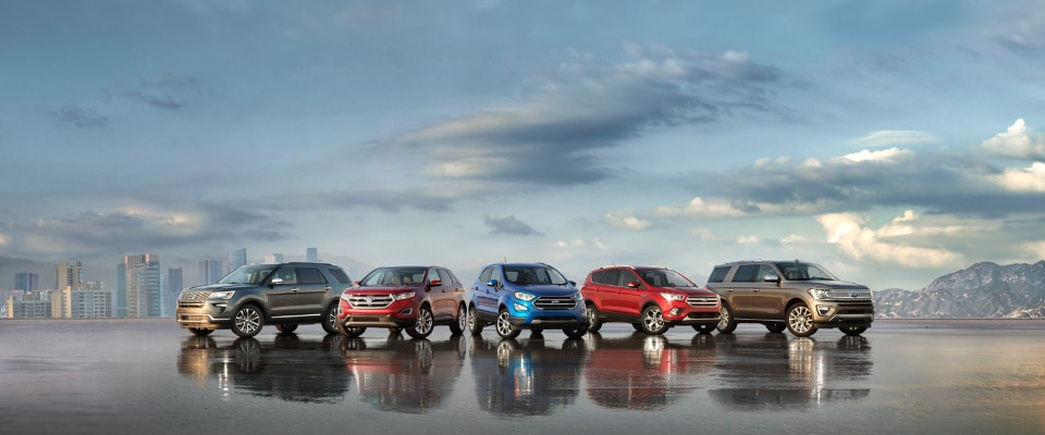 Ford Model Lineup