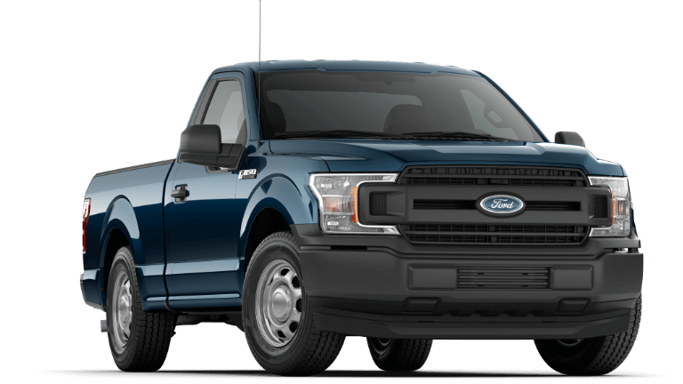 2019 Ford F-150 XL blue