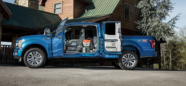 2019 Ford F-150 cargo space